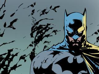 Batman Dark Digital FanArt wallpaper