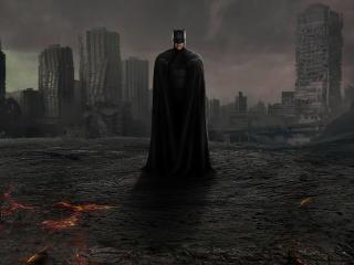 Batman Dark Knight ZSJL wallpaper
