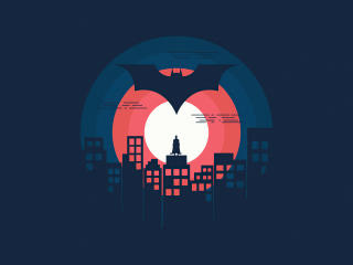 Batman DC 2021 Minimal wallpaper