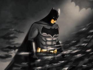 Batman DC Comic Draw wallpaper
