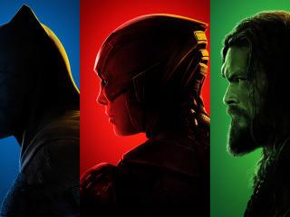 Batman Flash Aquaman Justice League wallpaper