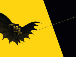 Batman Flying wallpaper