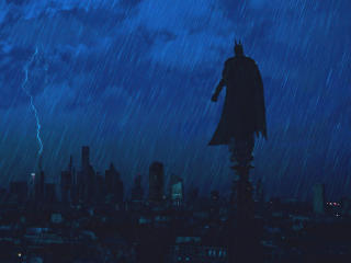 Batman Gotham Night Mode wallpaper