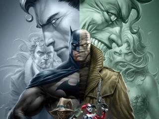 Batman Hush wallpaper