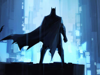 Batman Painting Art wallpaper