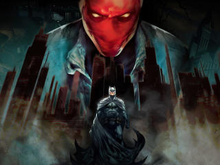 Batman Under the Red Hood wallpaper