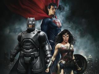 Batman V Superman: Dawn Of Justice Art wallpaper