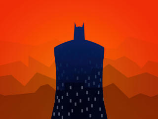 Batman Vector Art wallpaper