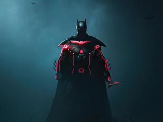 Batman x Cyberpunk wallpaper