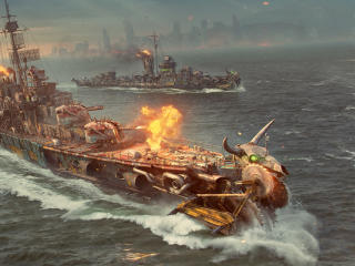 Battle Royale World of Warships wallpaper
