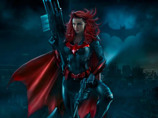 Batwoman Artwork wallpaper