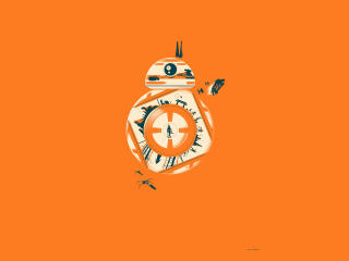 BB-8 Star Wars wallpaper