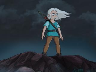 Bean in Disenchantment wallpaper