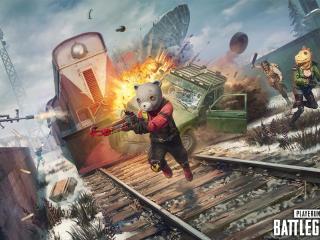Bear  Playerunknown's Battlegrounds 7 wallpaper