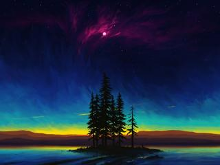 Beautiful Landscape Digital Art wallpaper