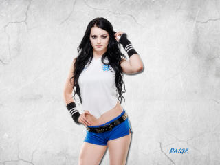 Beautiful Paige in White wallpaper
