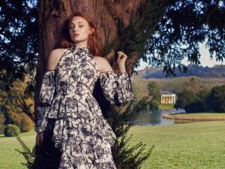 Beautiful Sophie Turner Photoshoot wallpaper