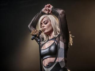 Bebe Rexha Live Performace wallpaper