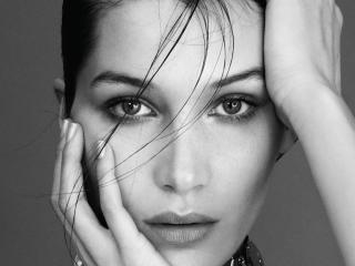 bella hadid, model, face wallpaper