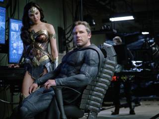 Ben Affleck As Batman Gal Gadot Wonder Woman Justice League 2017 wallpaper