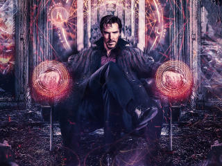 Benedict Cumberbatch Doctor Strange Art wallpaper
