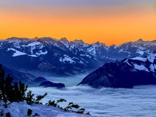 Bernese Alps Switzerland wallpaper