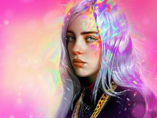 Billie Eilish Artwork wallpaper