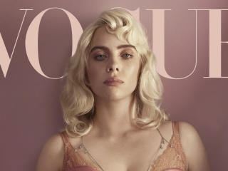 Billie Eilish for British Vogue 2021 wallpaper