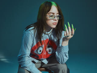 Billie Eilish Glasses wallpaper