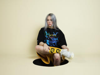 Billie Eilish Singer 4K wallpaper