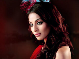 Bipasha Basu In Red Dress HD Pics wallpaper