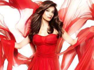 Bipasha Basu In Red Dress Pics wallpaper