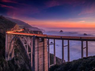 Bixby Creek Bridge California wallpaper