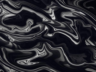 Black Color Liquid 4K wallpaper