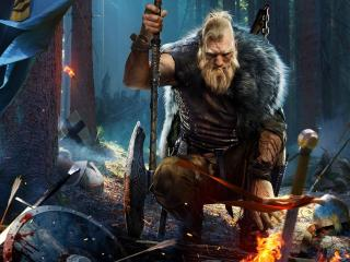 Black Desert Online Viking Warrior wallpaper