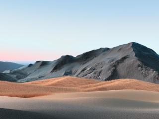 Black Dune 4K wallpaper