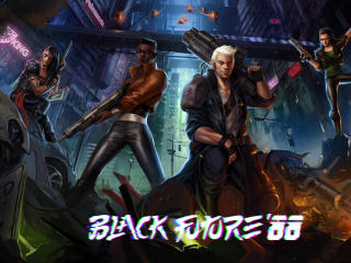 Black Future 88 Game wallpaper