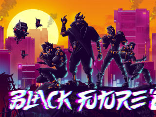 Black Future 88 wallpaper