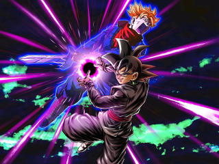 Black Goku & Trunks Dragon Ball Super wallpaper