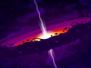 Black Hole Opening wallpaper
