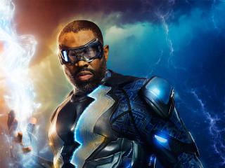 Black Lightning Cress Williams Tv Series 2018 wallpaper