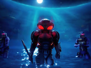 Black Manta Fortnite 4K wallpaper