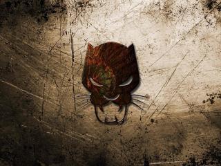 Black Panther Logo wallpaper