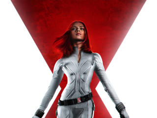 Black Widow 2020 White Suit wallpaper