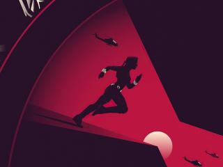 Black Widow 4k Digital Poster wallpaper