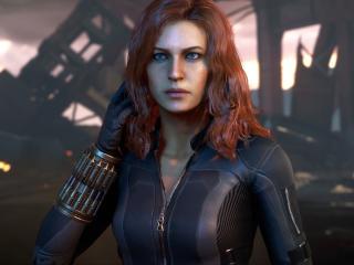 Black Widow Avengers Game 2020 wallpaper