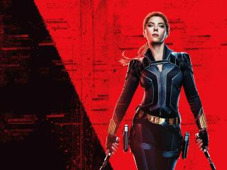 Black Widow Banner 4K 8K wallpaper