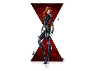 Black Widow Fantasy Art wallpaper