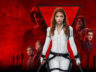 Black Widow HD Movie Poster 2021 wallpaper