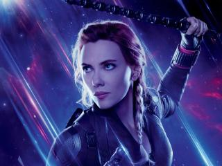 Black Widow in Avengers Endgame wallpaper